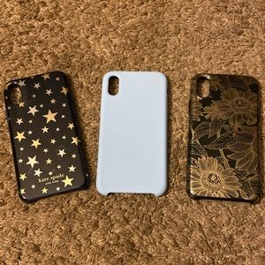 Gently Used IPhone X/XS Phone Case Lot